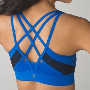 Lululemon Strap It Like Its Hot Bra Sz 4